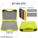 MOQ Haga clic en Bloquear flexible de plástico de varios colores Funda de transporte de agua salada de la pesca mosca espantapájaros Box 09A-SF01