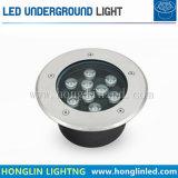 LED 옥외 정원 9W 지하 빛에 의하여 특색지어지는 제품