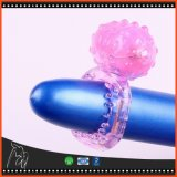 Stuk speelgoed van het Geslacht van de Ringen van de Kiel van het Geslacht van de Ring van de Penis van de super-elastische Bouw het Trillende voor Mensen, de Trillende Producten van het Geslacht van het Geslacht van de Ring van de Haan Volwassen