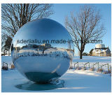 Thickness 5mm를 가진 Water Feature를 위한 미러 Polished Stainless Steel Hollow Sphere 또는 Ball