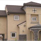 Самый лучший продавец строя плитку крыши металла цветастого камня Coated
