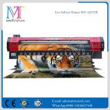 Mt 두 배 4는 Epson 인쇄 헤드를 가진 1.8m/3.2m Eco 용해력이 있는 인쇄 기계를 착색한다