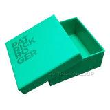Dekorativer prägengekopierter aufbereiteter Papiergeschenk-Kasten-Schuh-Geschenk-Kasten
