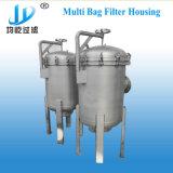 Cárter del filtro multi de bolso el reactivo químico del acero inoxidable