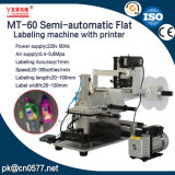 De halfautomatische Vlakke Machine van de Etikettering voor Dranken (MT-60)