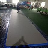 stuoia di caduta di ginnastica della casa del pavimento della pista di aria di 10X1.95X0.1m gonfiabile