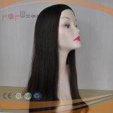 Cabelo humano barato nenhuma peruca da franja (PPG-l-01658)