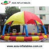 テントが付いている屋外の膨脹可能な丸型水プール