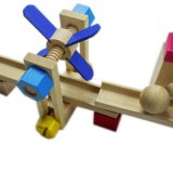 خشبيّة [رولّر كستر] أثر يسدّ سيارة يعلم لغز لعب تربويّة