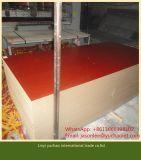 1220x2440x17mm MDF melamina rojo cereza