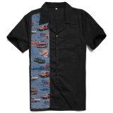 De Knoop van Rockabilly op de Overhemden van Mensen voor Overhemden van het Overleg van de Verkoop de In het groot