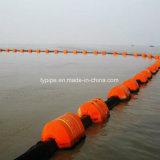 Tubo PE de 12 pulgadas para el bombeo de arena del tubo de dragado de HDPE /