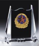 Trofeo personale del cristallo di alta qualità di disegno K9