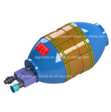 Струбцина малого диаметра внутренне трубопроводов с медными вкладышами