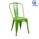 의자를 식사하는 많은 색깔 작풍 옆 의자 포도 수확 금속을 도매하십시오
