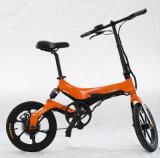 4개 속도 모형을%s 가진 250W 모터 지능적인 접히는 자전거