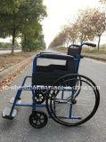Acier, fauteuil roulant économique, pliable, manuel
