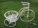 꽃 디자인을%s 가진 자전거 재배자 대