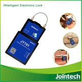 자동적인 콘테이너 화물 전자 물개는 SMS, Sofware APP 및 RFID 카드에 의하여 자물쇠로 연다