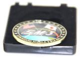 Moneda suave de encargo conmemorativa del esmalte de la técnica de bastidor del metal