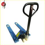 1t 8.5m Handgabelstapler-manueller Ladeplatten-Ablagefachjack-LKW