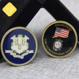 prix d'usine de bonne qualité des pièces de monnaie militaire personnalisé