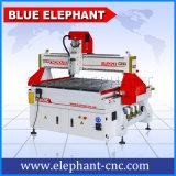 青い象販売1200X1200mmのワークテーブルのアルミニウムのための機械を切り分ける1212年のCNCのルーターの木製の切断