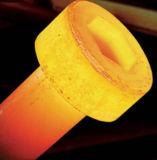 Machine de pièce forgéee chaude de chauffage par induction de chauffage en métal d'admission pour des noix - et - fabrication de boulons