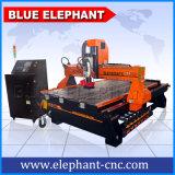 Strumento automatico che cambia il macchinario del router di CNC dell'asse di rotazione del fornitore Ele1325 tre del router di CNC della Cina