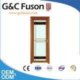 Bastidor de aluminio de madera de sándalo rojo de la puerta de Casement