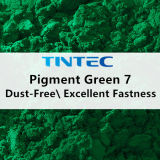 Зеленым пигментом 7 с отличным стойкость цвета свойства (Premix зеленый E7510)