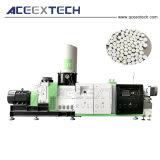 El reciclaje de plástico PP PE ventilación extrusionadora de un solo husillo vacío