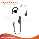 Écouteur de crochet d'oreille de forme de C pour Motorola Cp200