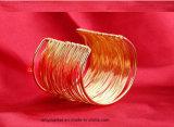 Mode de style occidental de la personnalité d'or Bracelets Bangle