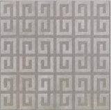 Nuevo azulejo de suelo esmaltado gris de la porcelana del material de construcción del diseño con resistencia del patín