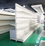 Étagère en acier personnalisée de supermarché de présentoir de salle d'exposition