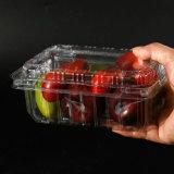 Contenitore impaccante di copertura superiore di Delviery di plastica della scatola dell'alimento puro del PVC pp