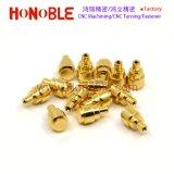 금 도금 또는 도금된 삽입 또는 견과