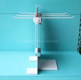 El alambre de metal de doble cara de la encimera engancha el estante de visualización colgante de la herramienta de la cocina