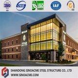 세륨 증명서 다기능 조립식 모듈 강철 주거 상업적인 건물