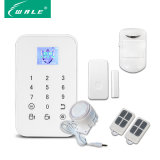Sistema de alarma de la seguridad del G/M Burlar con la pantalla de TFT para el hogar