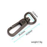 Crochet chaud de rupture d'émerillon en métal de vente pour le sac de collier de laisse (HS6145)
