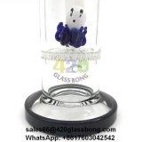 Spitzenrauchendes Glaswaterpipe/Rohr mit Bienenwabe Perc und Krake