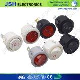 Jsh de 3 patillas redondas Interruptor de luz