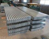 Плитка толя Galvanzied померанцового покрытия Corrugated для Prefab дома/строительных материалов