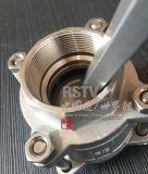 Do molde do aço inoxidável da mola válvula de verificação da linha 3PC do retorno não