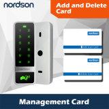 Control de acceso independiente de Weigand de la pantalla táctil del shell del metal con la tarjeta de la gerencia