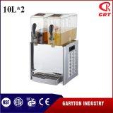 Bewegend de Automaat van de Drank voor het Houden van Drank (GRT-LRYJ10L*2) 2 Tanks