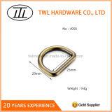 La lumière d'or en alliage de zinc anneau pour vêtement/Vêtements/sacs