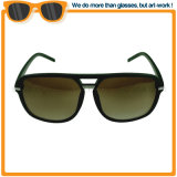 Oversize Classical Men Doubles Bridge Sunglasses with Light Weight
